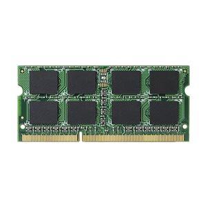 エレコム RoHS対応 DDR3-1333(PC3-10600)204pinS.O.DIMMメモリモジュール/4GB EV1333-N4G/RO