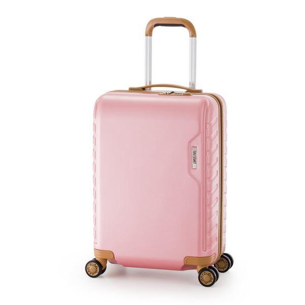 スーツケース/キャリーバッグ 【ピンク】 71L ダイヤル式 TSAロック アジア・ラゲージ 『MAX SMART』
