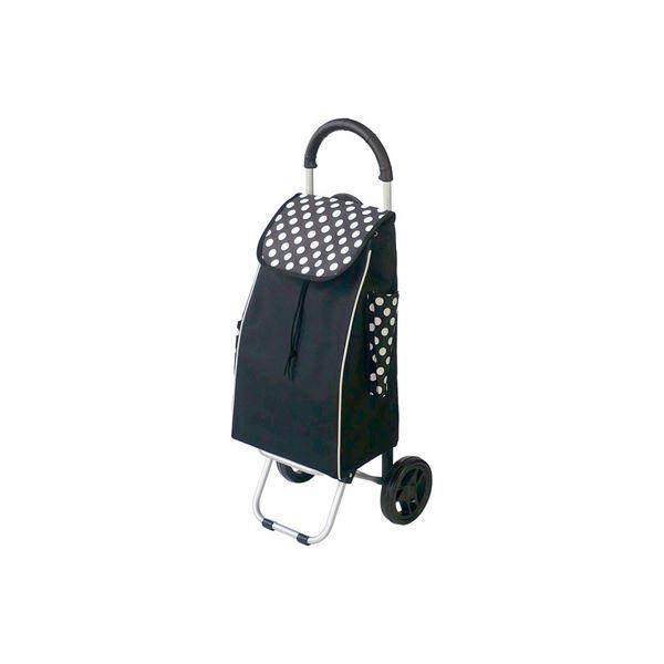 (業務用セット) RQショッピングカートC101 ドット黒 RQC-C101DD【×3セット】