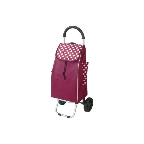 (業務用セット) RQショッピングカートC101 ドット赤 RQC-C101DR【×3セット】
