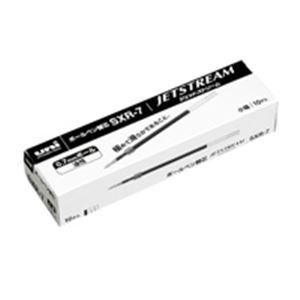 (業務用50セット) 三菱鉛筆 ボールペン替え芯/リフィル 【0.7mm/黒 10本入り】 油性インク SXR7.24 ×50セット