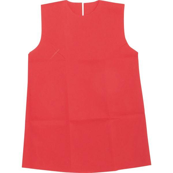 (まとめ)アーテック 衣装ベース 【J ワンピース】 不織布 レッド(赤) 【×30セット】