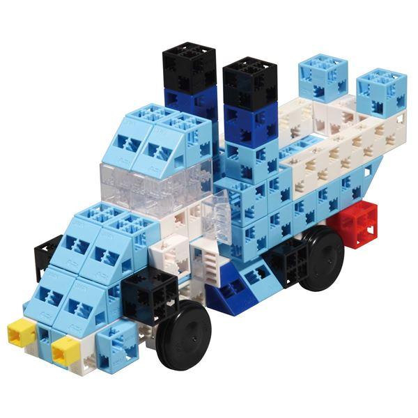 (まとめ)アーテック Artecブロック/カラーブロック 【BLUE RACER】 100pcs ABS製 【×5セット】