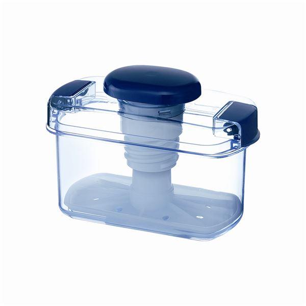 【18セット】 漬物容器/漬物用品 【S-10 クリアブルー】 ハイペット 〔キッチン用品 家庭用品 手づくり〕【代引不可】
