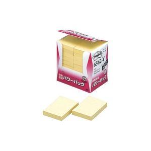(業務用20セット) スリーエム 3M ポストイット 再生紙経費削減 6562-Y イエロー