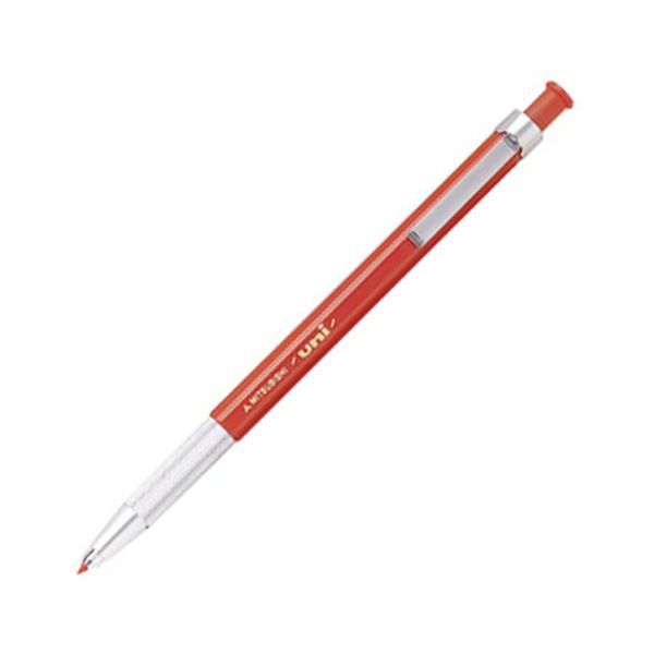 (まとめ) 三菱鉛筆 ユニホルダー 2.0mm 赤MH500.15 1本 【×30セット】