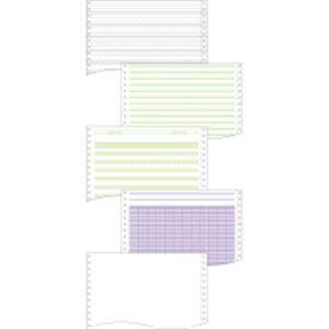 (まとめ) トッパンフォームズ ストックフォーム15×11インチ 1P フォーライン入 1514L1 1箱(2000枚) 【×5セット】