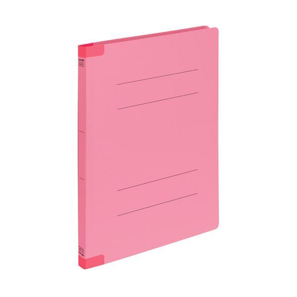 (まとめ) コクヨフラットファイルK2(背補強タイプ) A4タテ ピンク K2フ-BR10PX101セット(30冊:10冊×3パック) 【×10セット】