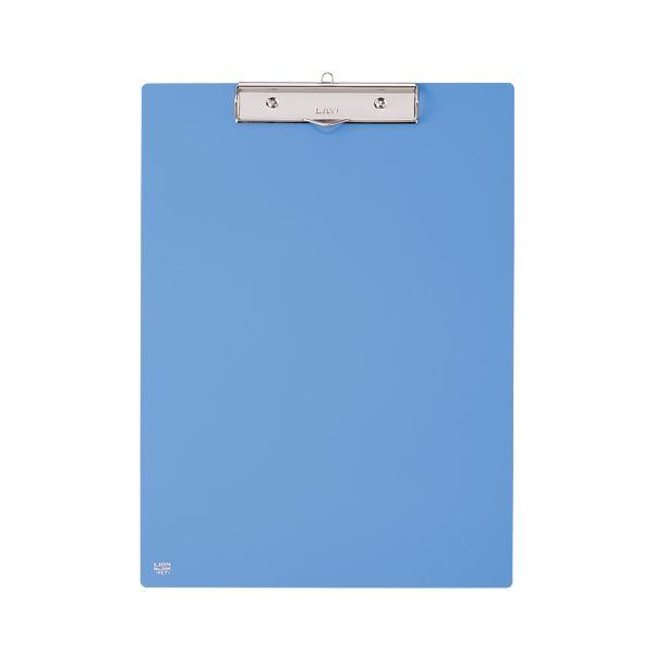 (まとめ) ライオン事務器 PETカラー用箋挟B4タテ ブルー No.230K 1枚 【×10セット】