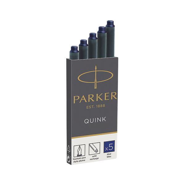 (まとめ) パーカー クインクカートリッジインク 5本入 ブルー【×20セット】