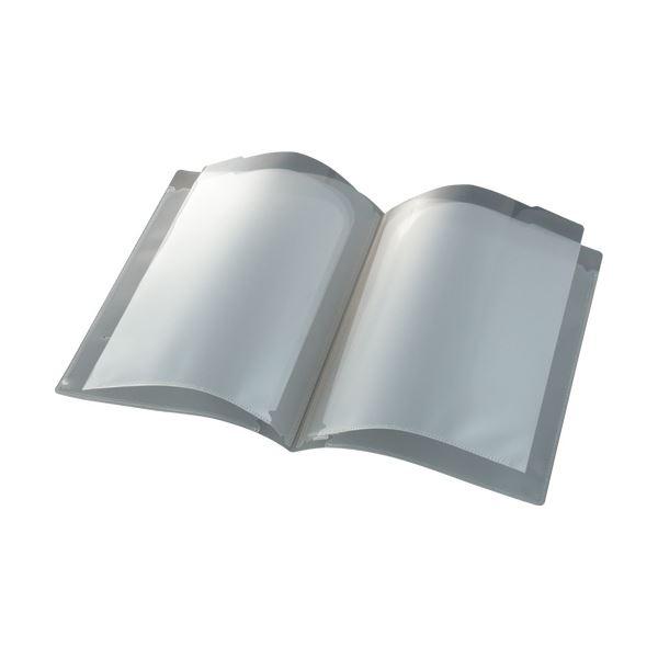 (まとめ) ビュートン スマートホルダーA4(見開きA3) 6ポケット クリヤー NSH-A4-6C 1冊 【×50セット】