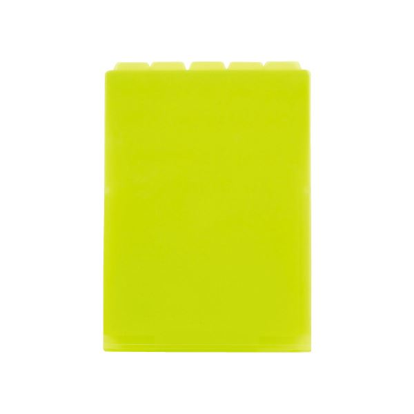 (まとめ)セキセイ 5インデックスF A4タテ ACT-915-33 ライトグリーン【×50セット】
