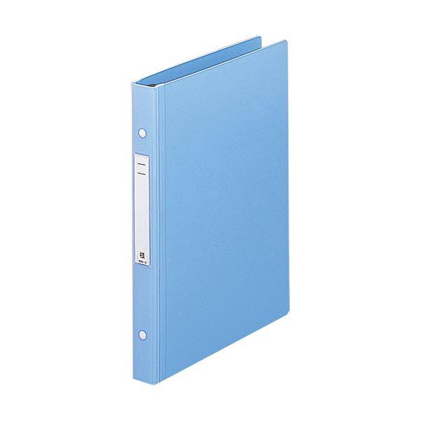 (まとめ) リヒトラブメディカルサポートブック・スタンダード A4タテ 4穴 180枚収容 ブルー HB657-1 1冊 【×10セット】