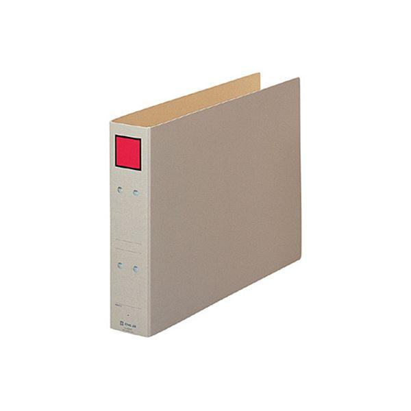 (まとめ) キングジム 保存ファイル B4ヨコ 500枚収容 背幅65mm ピクト赤 4395E 1冊 【×30セット】