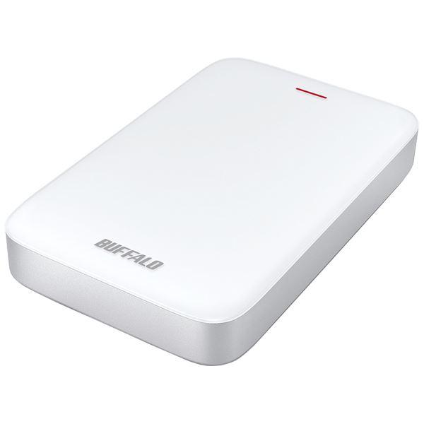 バッファロー ミニステーション Thunderbolt&USB3.1(Gen1)/USB3.0対応ポータブルHDDUSB Type-C変換端子付属 2TB HD-PA2.0TU3-C
