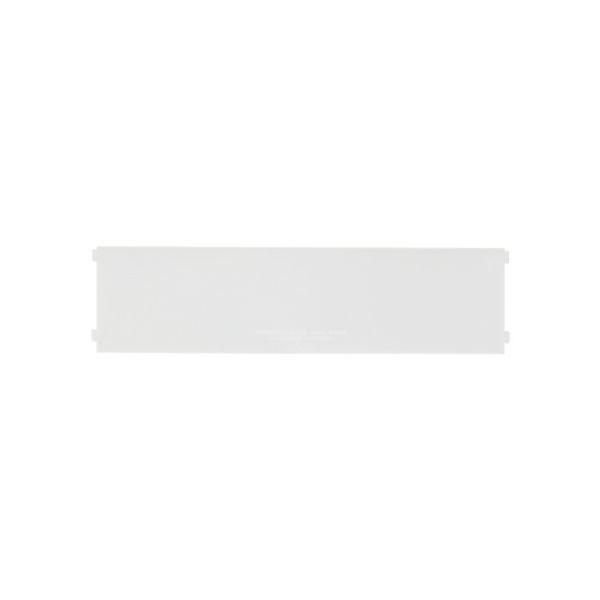 (まとめ) 小物入れ/ブリックス専用仕切板 【ワイドM用 2枚組】 ホワイト 9104 【72個セット】
