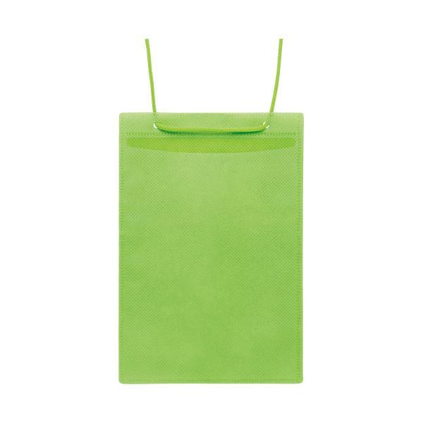 (まとめ)ソニック カラーイベント吊下げ名札ハガキ用 50枚 緑【×10セット】