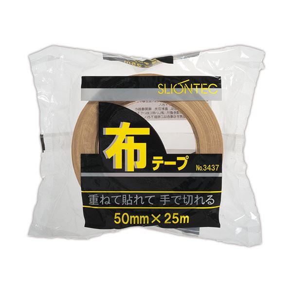 (まとめ) スリオンテック 布テープ No.343720 50mm×25m No.343720-50x25DB 1巻 【×30セット】