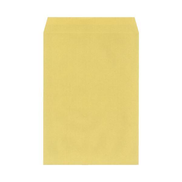 (まとめ)今村紙工 地紋入クラフト封筒 角2 100枚テープなし(×30セット)