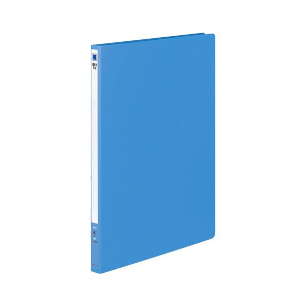 (まとめ) コクヨ レバーファイル(MZ) A4タテ100枚収容 背幅20mm 青 フ-300NB 1セット(10冊) 【×5セット】