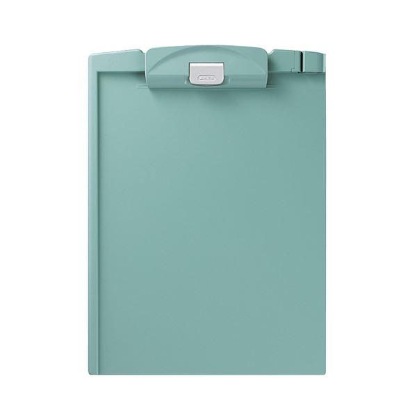 (まとめ)コクヨ クリップボードH A4タテ 緑ヨハ-H78G 1セット(10枚)【×3セット】
