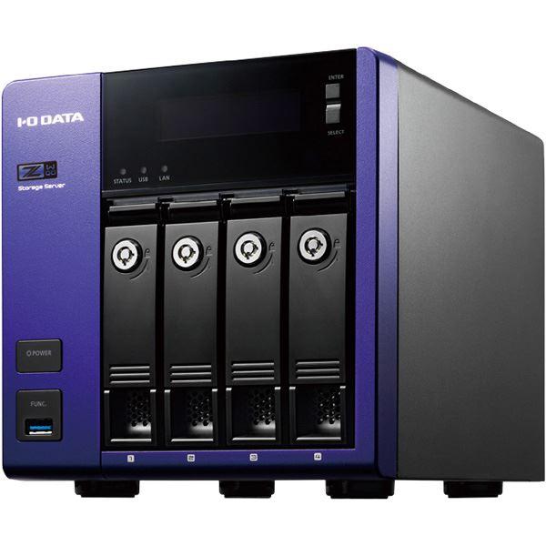 アイ・オー・データ機器 Windows Storage Server 2016 WorkgroupEdition/Intel Celeron搭載 4ドライブ法人向けNAS 16TB HDL-Z4WQ16D