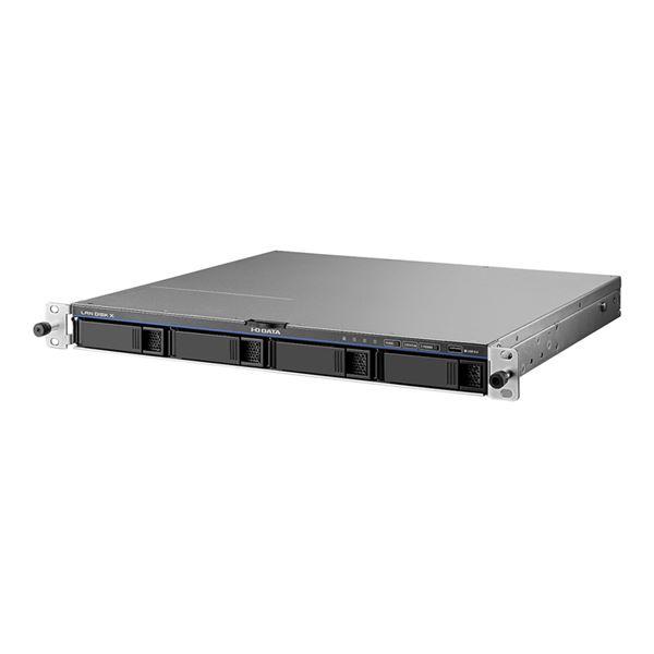 アイ・オー・データ機器 LinuxベースOS搭載 法人向け4ドライブ ラックマウントタイプNAS 8TB