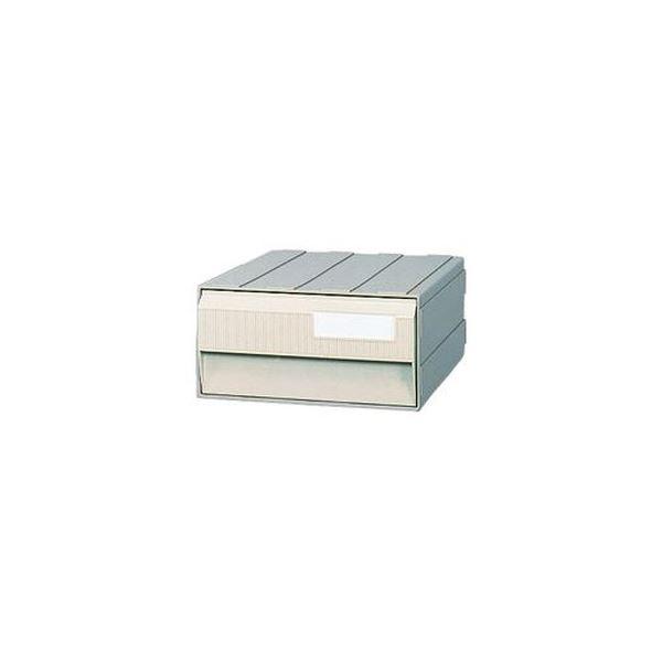 (まとめ)サカセ化学工業 ビジネスカセッター A41段 グレー A4-241A 1台【×3セット】