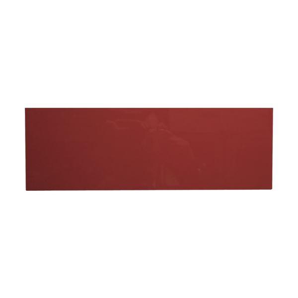 (まとめ) カーク カラーマグネットシート 赤MCD-R 1枚 【×10セット】