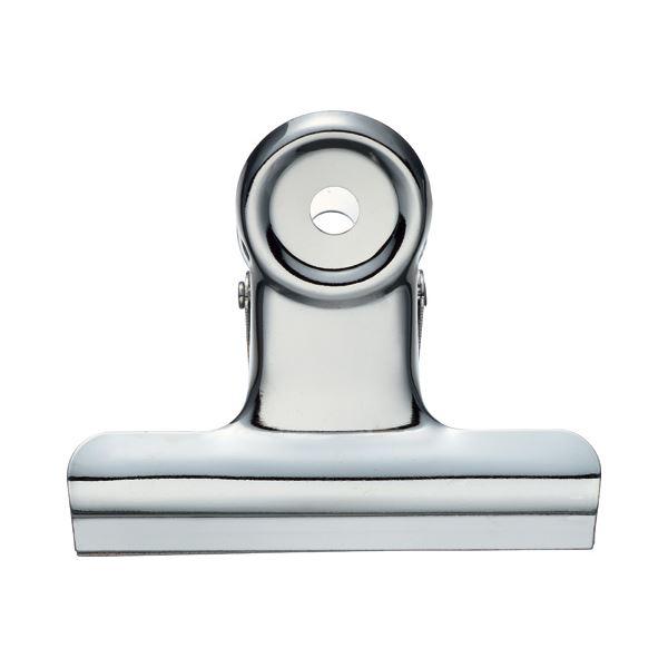 (まとめ) TANOSEE 目玉クリップ 大 口幅63mm 1箱(10個) 【×30セット】