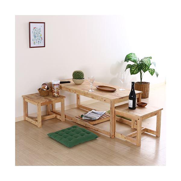 ネストテーブル/センターテーブル 【テーブル 大×1・テーブル 小×2】 木製 『Natural Signature』【代引不可】