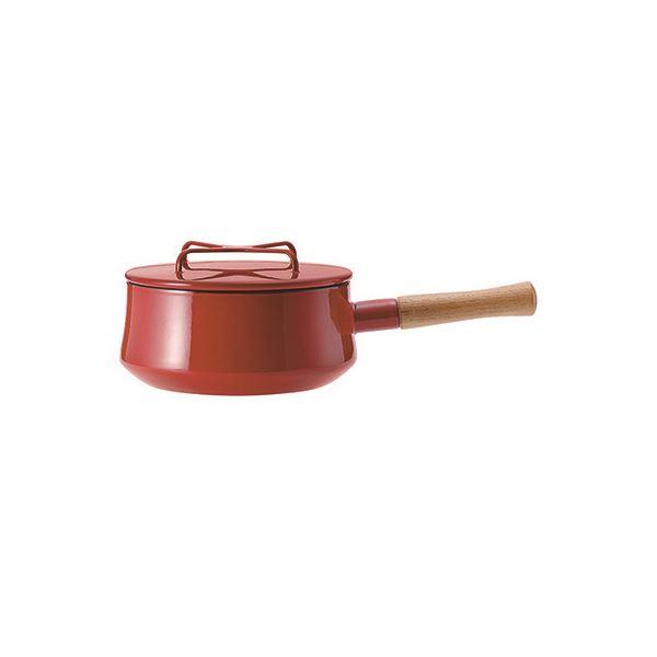 片手鍋18cm チリレッド 834298【代引不可】