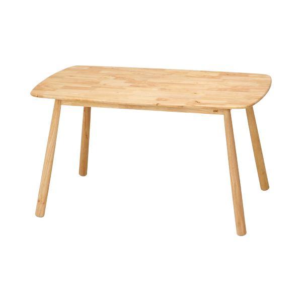北欧風 ダイニングテーブル/リビングテーブル 【幅135cm】 木製 『Natural Signature ティムバ』 〔リビング ダイニング 店舗〕【代引不可】