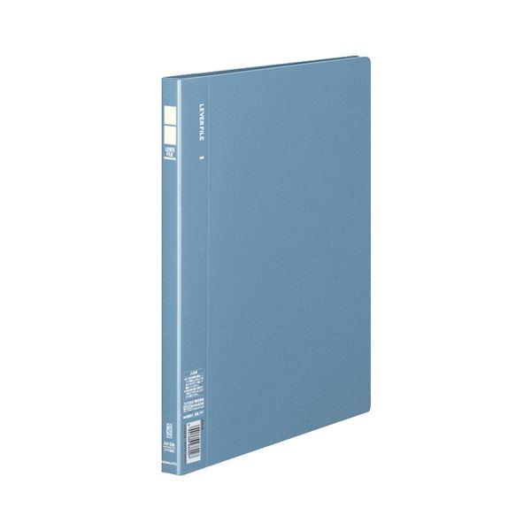 コクヨ レバーファイル(MZ)A4タテ100枚収容 背幅19mm 青 フ-F320B 1セット(60冊)