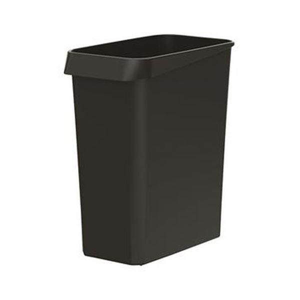 (まとめ)ダストボックス 角型 ブラック 1個【×20セット】