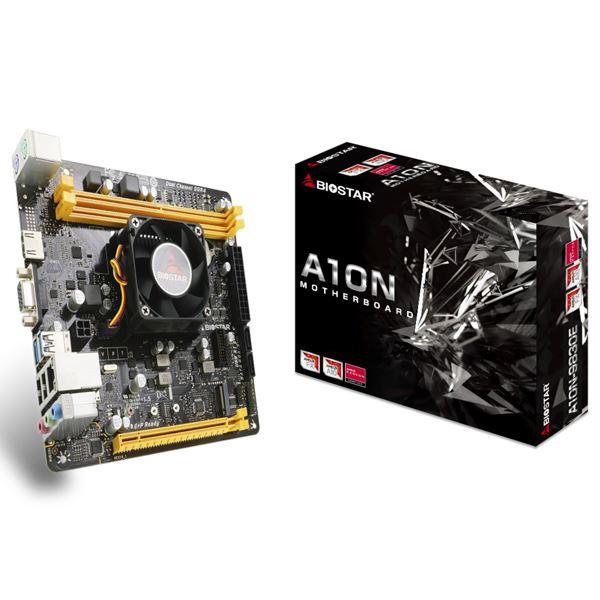 BIOSTAR AMD FX-9830P CPUオンボード搭載Mini ITXマザーボード/DDR42400MHz対応/AMD Radeon R7 Graphics A10N-9830E