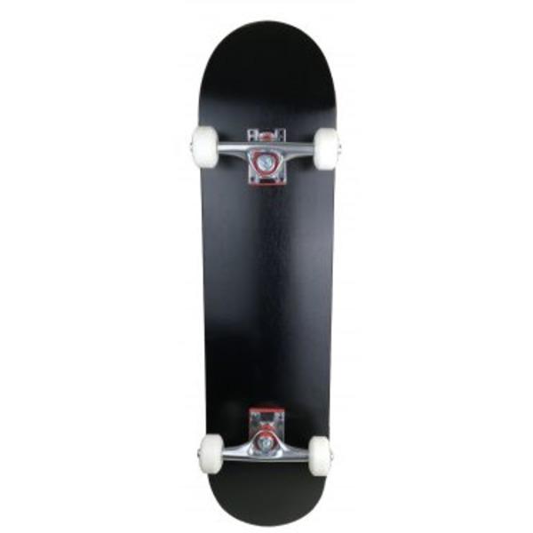 スケートボード/スケボー 【カナディアンメープル ブラック】 31インチ 長さ約78.5cm 耐荷重80kg 〔スポーツ用品 運動用品〕【代引不可】