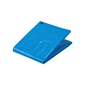 (まとめ) TANOSEE ブルーシート#3000 プラハトメ 5400×7200mm 1枚 【×5セット】