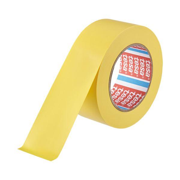 (まとめ) テサテープ ラインテープ 50mm×33m 黄 4169【×5セット】