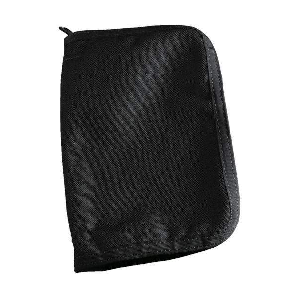 (まとめ)ライトインザレイン横開きノートブック用カバー ブラック C980B 1個【×3セット】