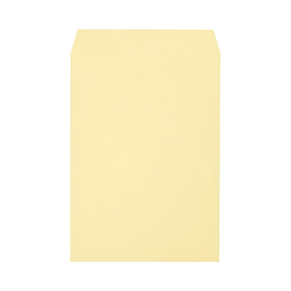 (まとめ) キングコーポレーション ソフトカラー封筒 角2 100g/m2 クリーム K2S100C 1パック(100枚) 【×10セット】