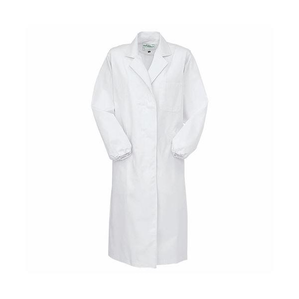 (まとめ) コーコス 抗菌防臭実験衣女シングル Lサイズ 1022 1枚 【×5セット】