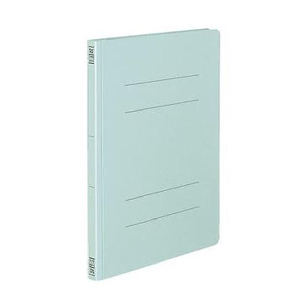 (まとめ)コクヨ フラットファイル(間伐材使用)A4タテ 150枚収容 背幅18mm 青 フ-VK10B 1セット(10冊)【×10セット】