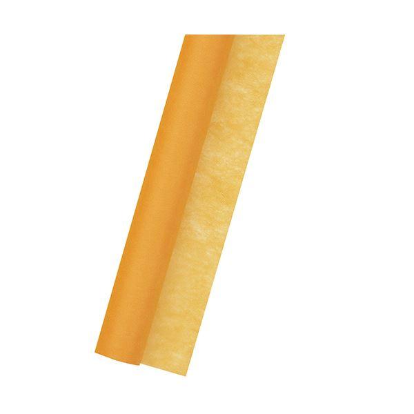 (まとめ) ササガワ 不織布 Jロール700mm×20m 橙 49-9005 1本 【×5セット】