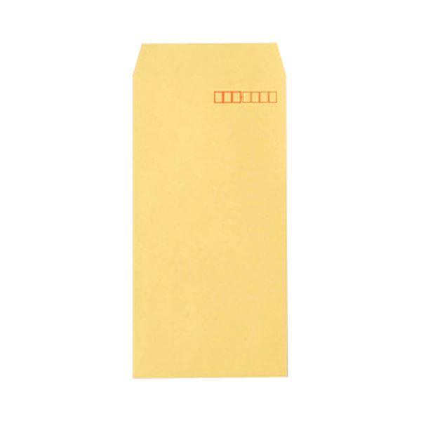 (まとめ) TANOSEE R40クラフト封筒 長370g/m2 〒枠あり 1パック(100枚) 【×50セット】