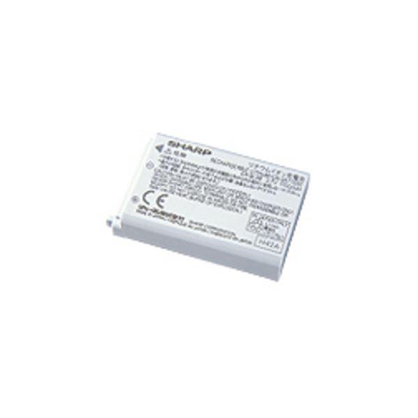 (まとめ)シャープ リチウムイオン充電池ハンディーターミナル用 EA-BL08S 1個【×3セット】