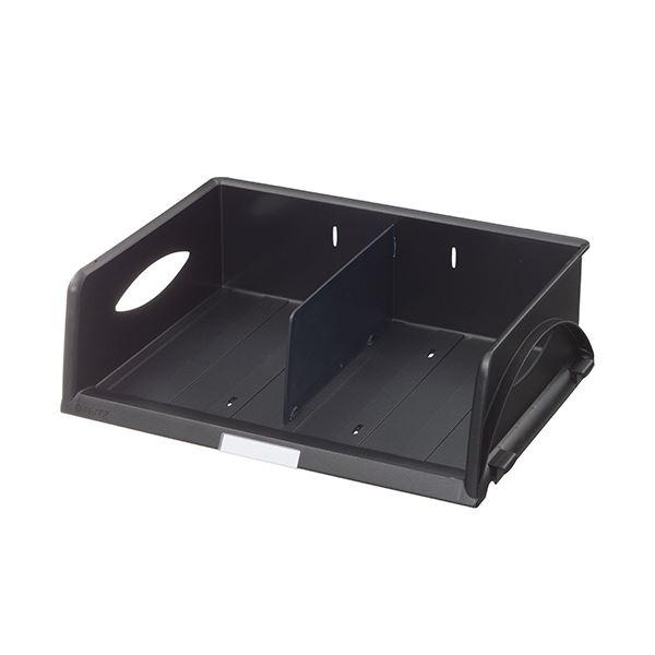 (まとめ) ライツ ソートトレー A4ヨコ ブラック5230-00-95 1個 【×5セット】