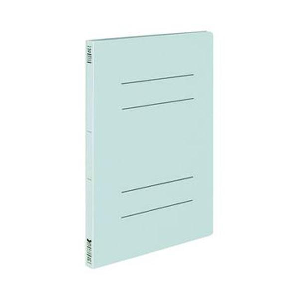 (まとめ)コクヨ フラットファイル(オール紙)A4タテ 100枚収容 背幅18mm 青 フ-RK10NB 1セット(10冊)【×10セット】
