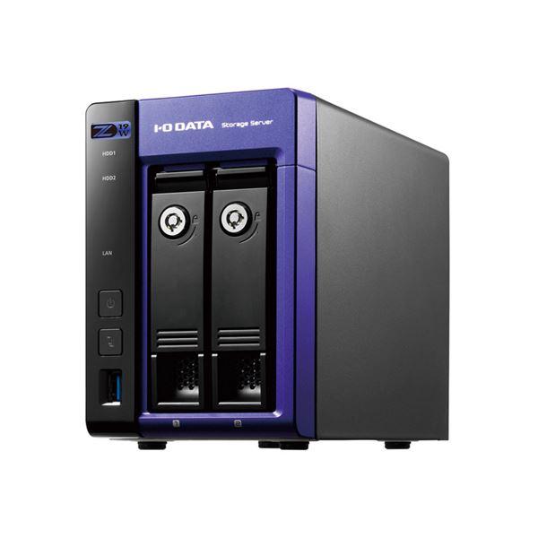 アイ・オー・データ機器 Windows Server IoT 2019 for StorageWorkgroup/Celeron搭載2ドライブNAS 2TB