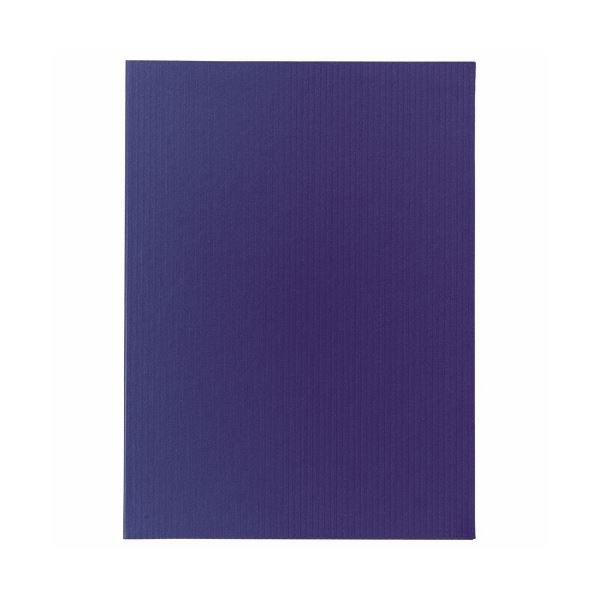(まとめ) ライオン事務器ポケットホルダー(アコルデ) 両面ポケット A4タテ(見開きA3) ブルー No.54CL 1冊 【×10セット】